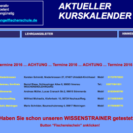 Update – Fischerprüfungen 2016