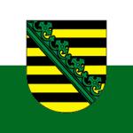 Flagge-Sachsen