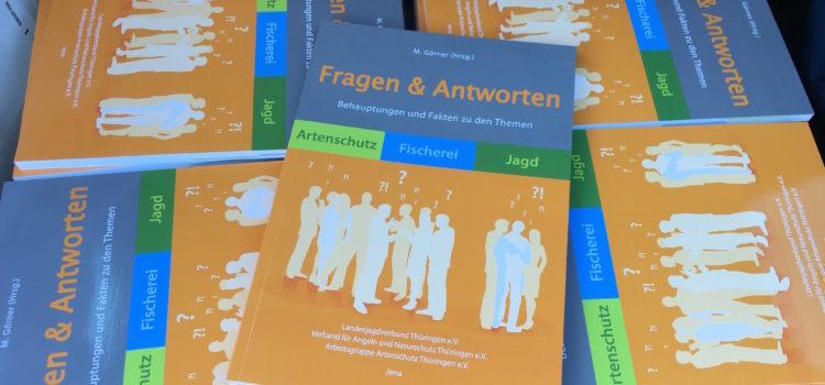Druckfrisch – Kostenlos: Behauptungen und Fakten zu den Themen Artenschutz, Fischerei und Jagd.