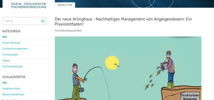 Der neue Arlinghaus – Nachhaltiges Management von Angelgewässern