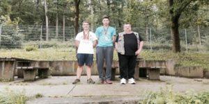 Foto: B. Riese v.l.n.r.: Nick Breitkreuz, Jonas Albrecht und Raymond Wilkat