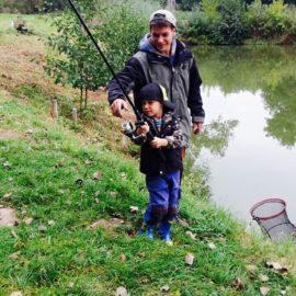 Hegefischen der Jugend in Kaatschen