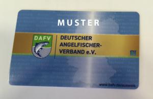 Muster vom neunen DAFV Ausweis. Tagung der Geschäftsführer 2017 DAFV 10