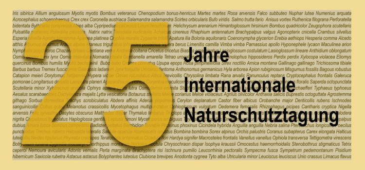 25. Jahre Internationale Naturschutztagung