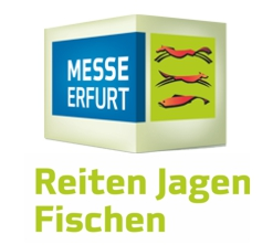 Fliegenfischen auf der Messe Reiten-Jagen-Fischen 2017 in Erfurt