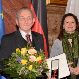Wir gratulieren Herrn Martin Görner zur Verleihung des Bundesverdienstkreuzes