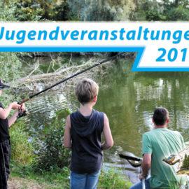 Gemeinschaftsangeln der Jugend in Rossleben