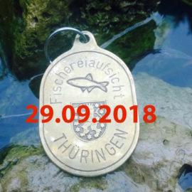 Lehrgang Fischereiaufseher am 29.09.2018