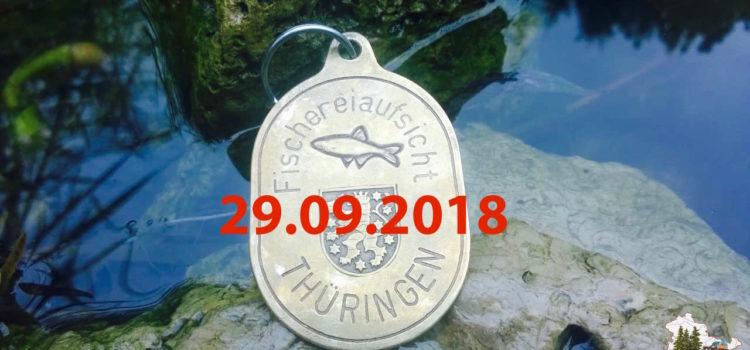 Lehrgang Fischereiaufseher 2018