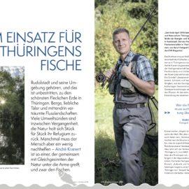 Im Einsatz für Thüringens Fische
