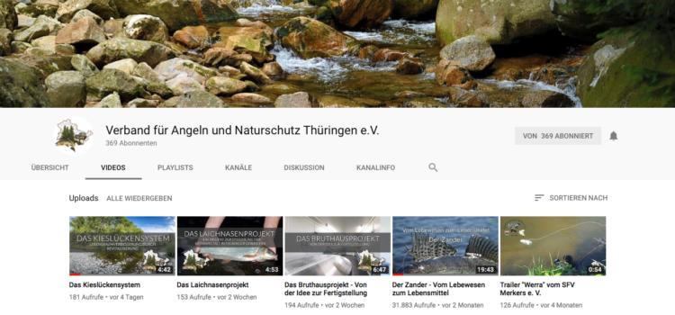 Der VANT bei YouTube