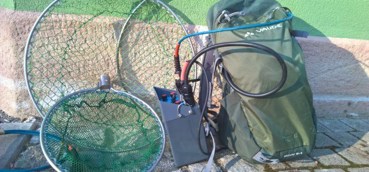Neu: Elektrofischereigerät