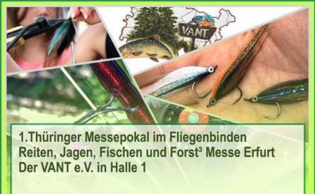 1. Thüringer Messepokal im Fliegenbinden