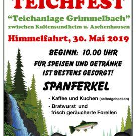 """Teichfest """"Teichanlage Grimmelbach"""" 30.05.2019"""