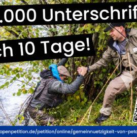 10.000 fehlende Unterschriften – noch 10 Tage Zeit!