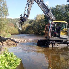 Die Pflege von Kleinfließgewässern
