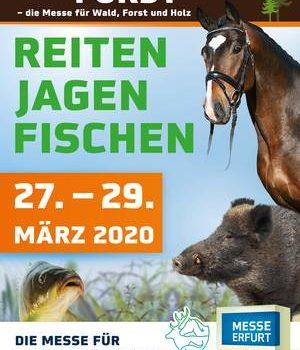 Reiten Jagen Fischen Forst 2020
