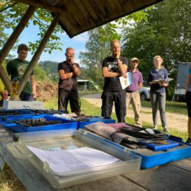 Die Ausbildung für den Fischereischein – Live und in Farbe