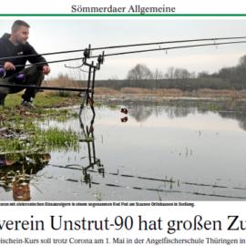 Die Thüringer Allgemeine berichtet ganzseitig über unsere Vereine